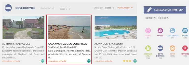 Inserire la propria azienda in una directory turistica