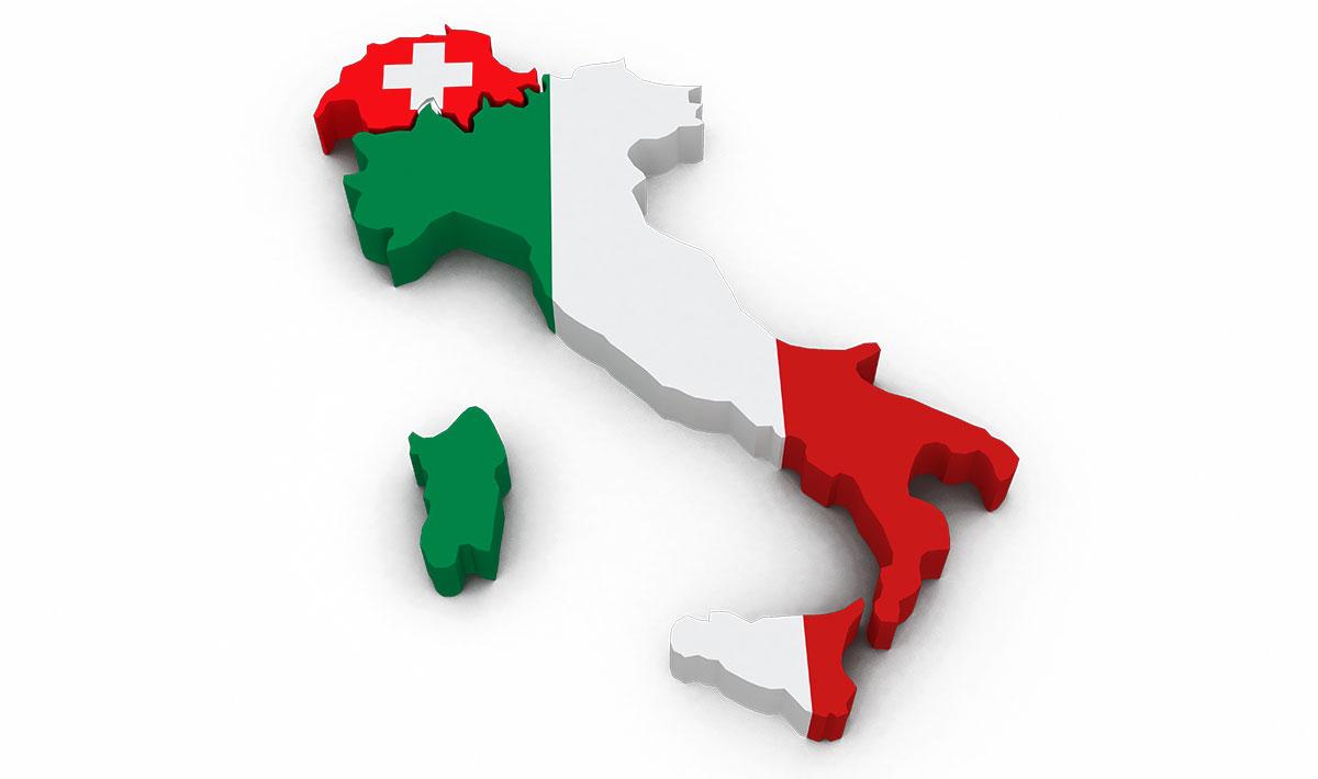 Turismo svizzero in Italia